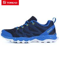探路者徒步鞋 春夏户外情侣男女低帮轻量耐磨舒适徒步鞋KFAG81055 *3件