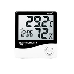 mitir 电子温湿度计 送电池