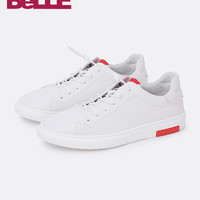 BeLLE/百丽 牛皮板鞋休闲男鞋 5VC01CM8