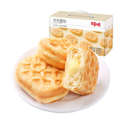 Be&Cheery 百草味 华夫饼手撕夹心面包 800g
