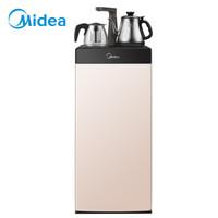 美的(Midea)饮水机茶吧机家用下置式 多功能智能自主控温 立式温热型饮水机 YR1206S-X