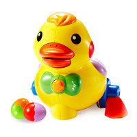 苏宁SUPER会员 : AUBY 澳贝 463318DS 乖乖小鸭 婴儿玩具