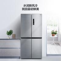 Midea 美的 BCD-450WTPM(E) 对开门冰箱 450L