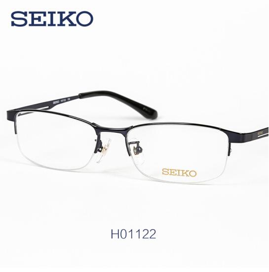 SEIKO 精工 H01122 纯钛全框眼镜架