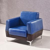欧宝美办公沙发会客沙发接待沙发时尚简约商务沙发组合单人位