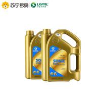 龙蟠SONIC9000 5W-30全合成机油 SN级汽车润滑油苏宁官方正品4L*2 *2件