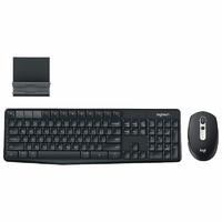 罗技M585鼠标K375S键盘静音蓝牙优联双模笔记本商务办公家用键鼠套装安卓小米平板手机通用M590静音版鼠标