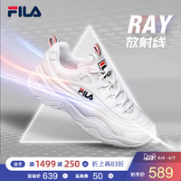FILA 斐乐官方 RAY 女子跑步鞋 2019夏季休闲运动鞋复古老爹鞋