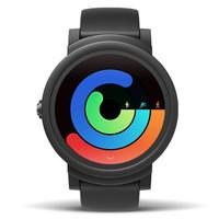 18日0点 : ticwatch E 时尚系列 WE11098 智能手表