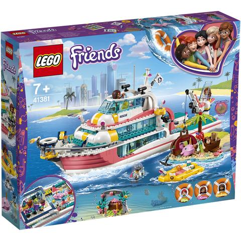考拉海购黑卡会员:LEGO 乐高 Friends好朋友系列 41381 海上爱心救援船