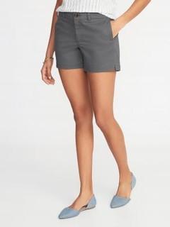 OLD NAVY 女士纯色休闲短裤
