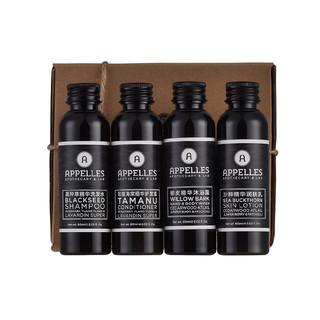 APPELLES 黑标系列护发护肤四件套 (60ml*4、瓶装)