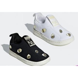 历史低价 : adidas Originals 阿迪达斯 STAN SMITH 360 I 婴童经典鞋