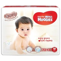 HUGGIES 好奇 铂金装 婴儿纸尿裤  M76片 *3件