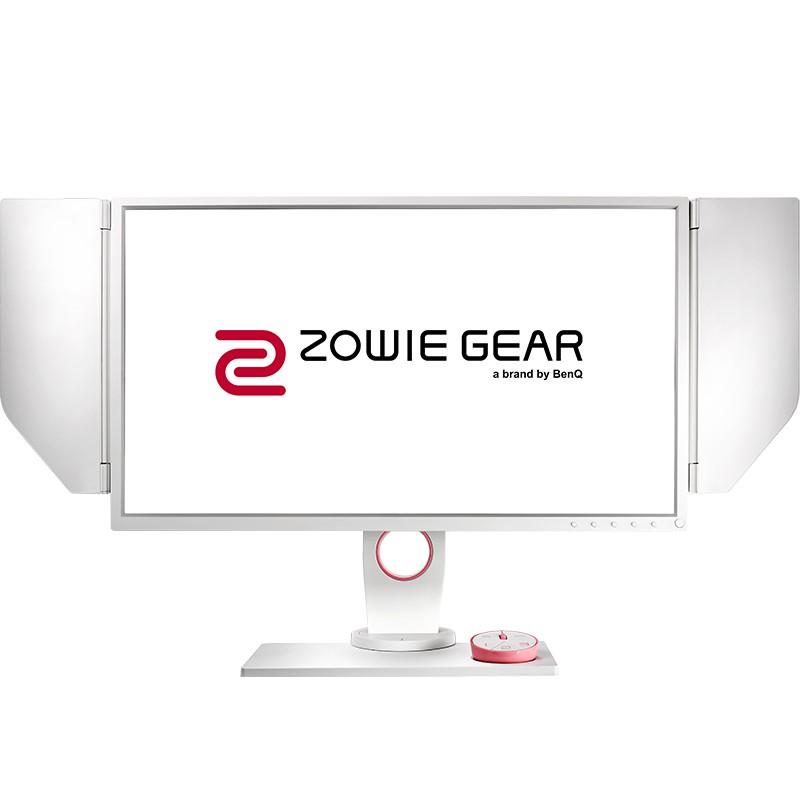 BenQ 明基 Zowie Gear XL2546 24.5英寸 TN电竞显示器 粉色版(240Hz、1ms、DyAc技术)