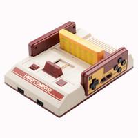酷孩游戏机电视游戏机经典怀旧红白机老式FC8位支持HDMI高清电视魂斗罗游戏RS-35 礼盒