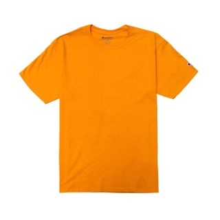 Champion T425GO 女款基础款短袖T恤 黄色