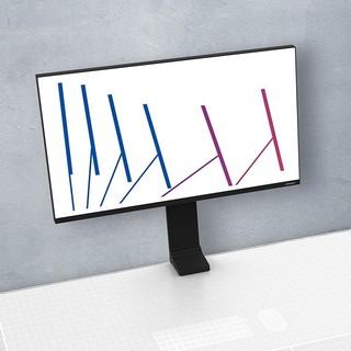 SAMSUNG 三星 Space Monitor S32R750UEC 31.5英寸 VA显示器(3840×2160、空气感支架、100% sRGB)