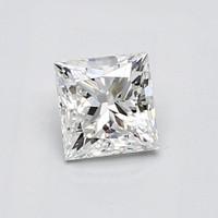 Blue Nile 0.70克拉 公主方钻石(切工G,成色F,净度VS1)