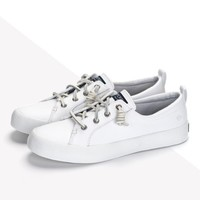 SPERRY STS82372 女士牛皮小白鞋
