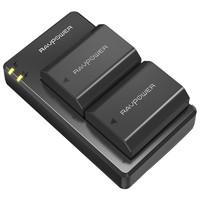 RAVPower 索尼单反NP-FZ100 相机电池 2电1充套装