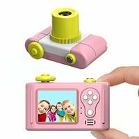 指玩奇特 第三代儿童卡通数码相机小单反运动摄像照相机 (粉色送32G内存卡)