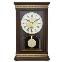 帝易达(Diyida)创意实木座钟蓝牙音乐台钟客厅时钟无线音响欧式石英钟表66253A