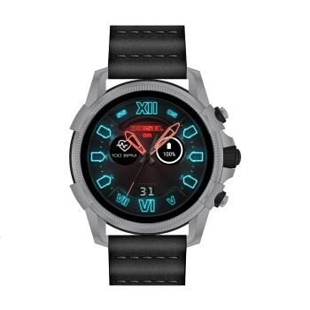 迪赛(Diesel)智能手表 第四代触摸屏多功能男表 GPS定位心率监测 快速充电 DZT2008