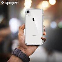 Spigen苹果X/XS/XR手机壳iPhoneXSMax全包明手机保护壳 透明6.1寸