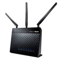 ASUS 华硕 RT-AC68U 1900M AC双频智能无线路由器  AImesh套餐 *2件