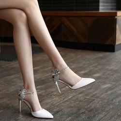 KumiKiwa 卡米 女士高跟鞋女鞋单鞋