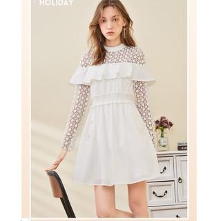 ONE MORE 11KH818627 高腰短款连衣裙