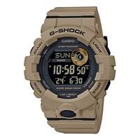 卡西欧(CASIO)手表 G-SHOCK系列 多功能计步蓝牙连接 防震防水高亮度自动LED照明手表 GBD-800UC-5