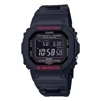 卡西欧(CASIO)手表 G-SHOCK系列 防震防水多功能全自动高亮度LED照明手表 GW-B5600HR-1PR