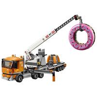 LEGO 乐高 火星探险火箭工程作业车 60233 甜甜圈店开业 (小颗粒)