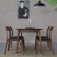 致典 餐桌椅套装 (1200CM、实木)