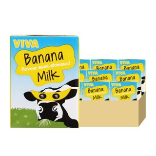 VIVA 韦沃 香蕉牛奶 200ml*21 *2件