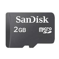 SanDisk闪迪 TF卡2g储存卡车载导航监控行车记录仪工业级高速MicroSD手机内存卡
