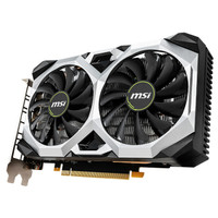 msi 微星 GeForce GTX 1660 VENTUS XS C 6G OC 万图师 显卡