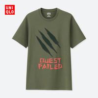 男装/女装 (UT) Monster Hunter印花T恤(短袖) 419665 优衣库