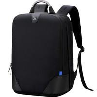 爱华仕(OIWAS)铝手把 15英寸电脑包男双肩包 商务休闲大学生背包 4373XL黑色 *2件