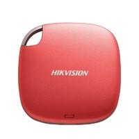HIKVISION 海康威视 T100系列 移动固态硬盘 480GB 红色