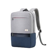 爱华仕双肩包男士休闲时尚背包15.6寸电脑包旅行背包学生潮流书包