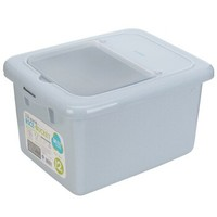 茶花 米桶储米箱面粉桶20斤防潮防虫 2304 *3件