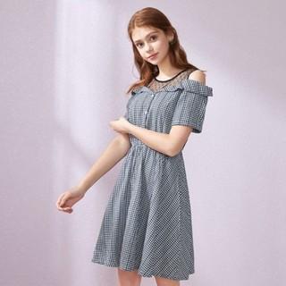 Semir 森马 13038140114 女款格纹连衣裙
