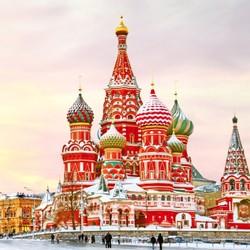 全国多地-俄罗斯莫斯科+圣彼得堡8-9天跟团游