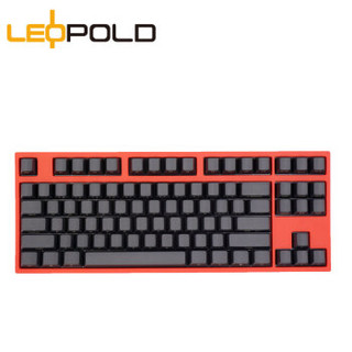 Leopold 利奥博德 FC750R PD版 87键 机械键盘 Cherry红轴 赤色限定版