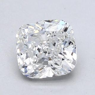 Blue Nile 1.00克拉 垫形钻石(切工VG,成色F,净度VVS2)