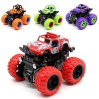 木丸子儿童玩具 惯性四驱特技越野车 仿真模型汽车
