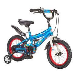 gb好孩子 儿童自行车 男女款 小孩单车 越野山地车 12/14/16寸 16寸 蓝色 JB1652Q-A-Q004B